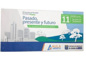 Volante tarjeta plantable y germinable elaborada en papel semilla premium