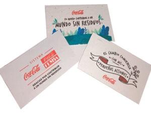 Etiquetas y tarjetas GERMINABLES en papel semilla