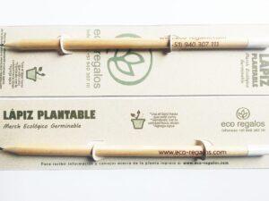 Lápices, bolígrafos y promocionales que GERMINAN